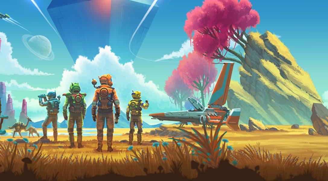 Observa el modo multijugador y en tercera persona de No Man's Sky NEXT, que llega el mes que viene