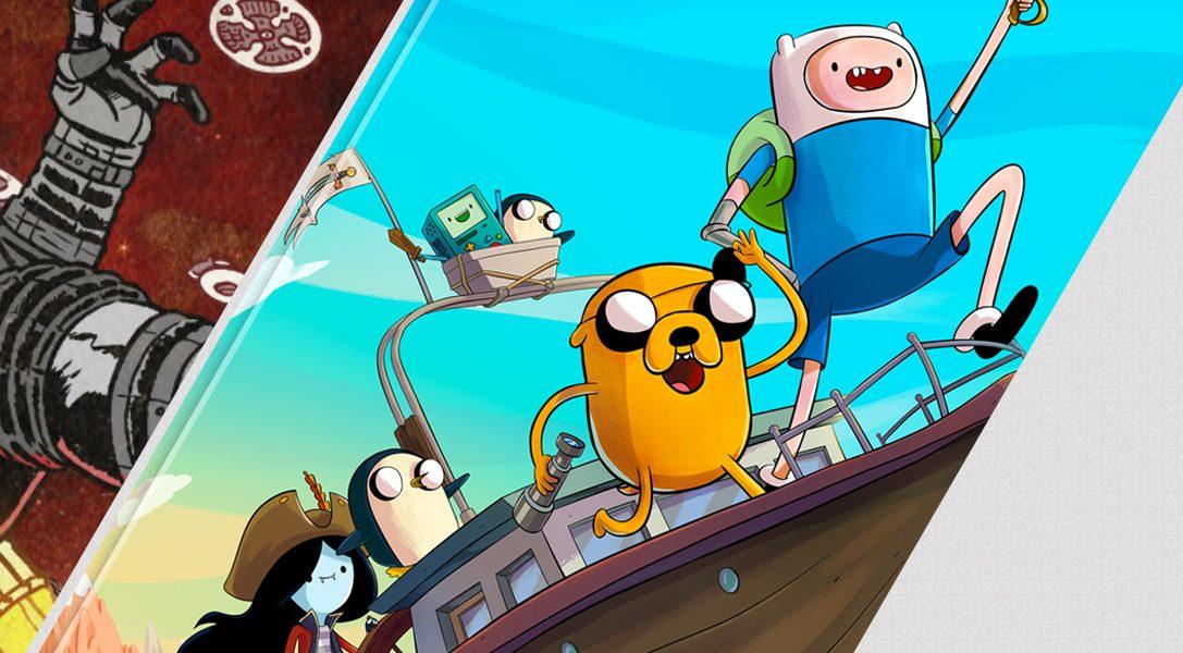 Los destacados de esta semana en PlayStation Store : el DLC Lost on Mars de Far Cry 5, Adventure Time: Pirates of the Enchiridion y Tempest 4000