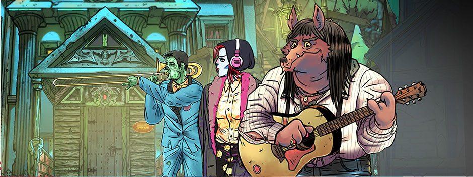 Wailing Heights | Una espectacular aventura de estilo cómic dibujado a mano que llega hoy a PS4
