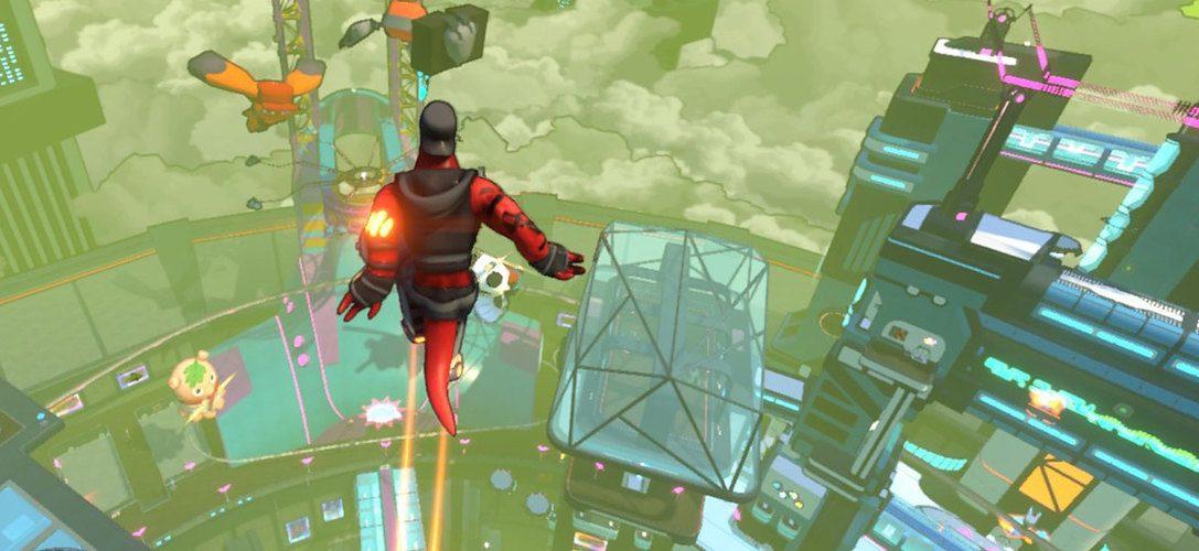 Hover, el videojuego que combina parkour y ciencia ficción, llega a PS4 el mes que viene