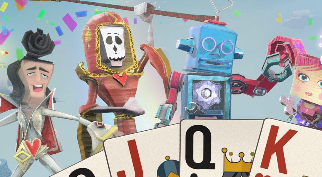 El party game basado en cartas, Just Deal With It!, se une a la gama PlayLink de PS4 este noviembre