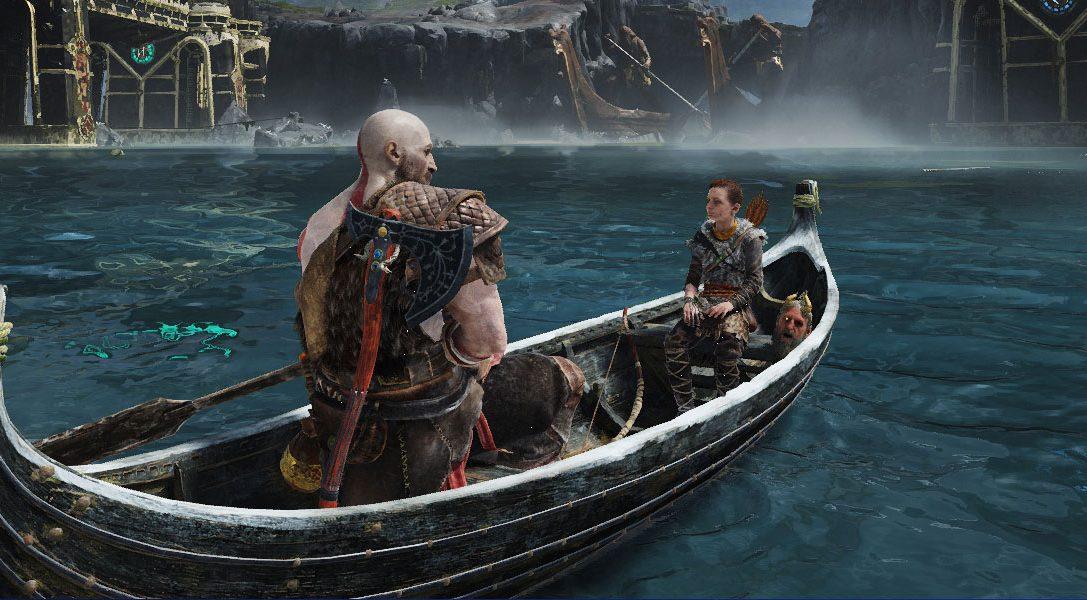 Cómo se crearon las secuencias de God of War a bordo del bote