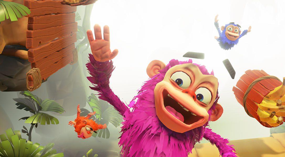 Ponte mono para Chimparty, un juego repleto de minijuegos multijugador que salta hasta PlayLink el 14 de noviembre