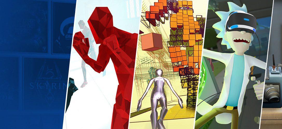 13 increíbles juegos de PS VR que bajan de precio este fin de semana en PlayStation Store