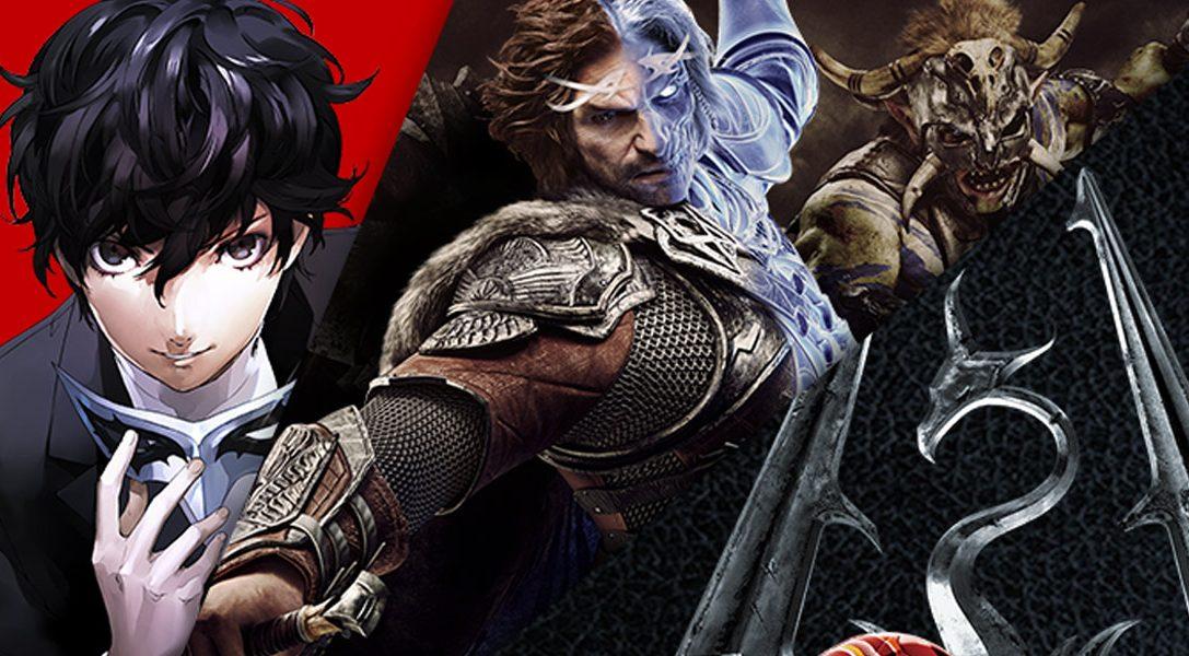 """La promoción """"ahorra hasta un 60 % de PlayStation Store"""" comienza hoy – incluye Persona 5, Gran Turismo y Shadows of War"""