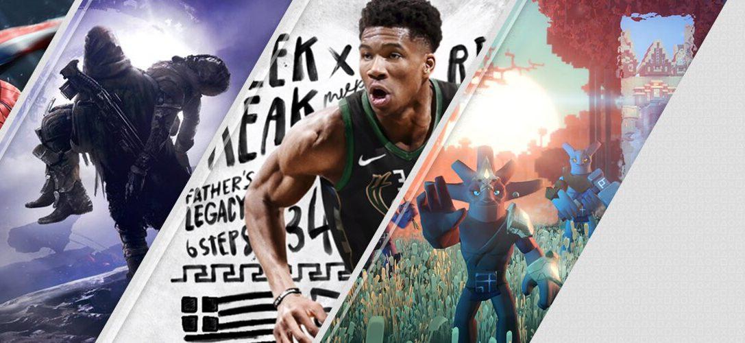 Los destacados de la semana de PlayStation Store: Marvel's Spider-Man, Destiny 2: Los Renegados, NBA 2K19, V-Rally y Boundless