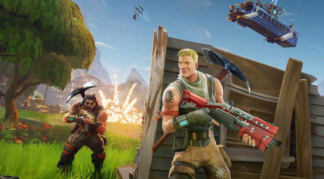 La Beta cross-play ampliada de Fortnite llega a PlayStation 4