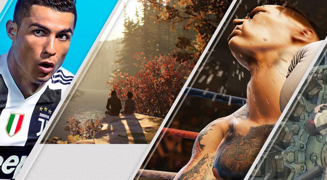 Lo más destacado de esta semana en PlayStation Store: FIFA 19, Life Is Strange 2, Creed y mucho más