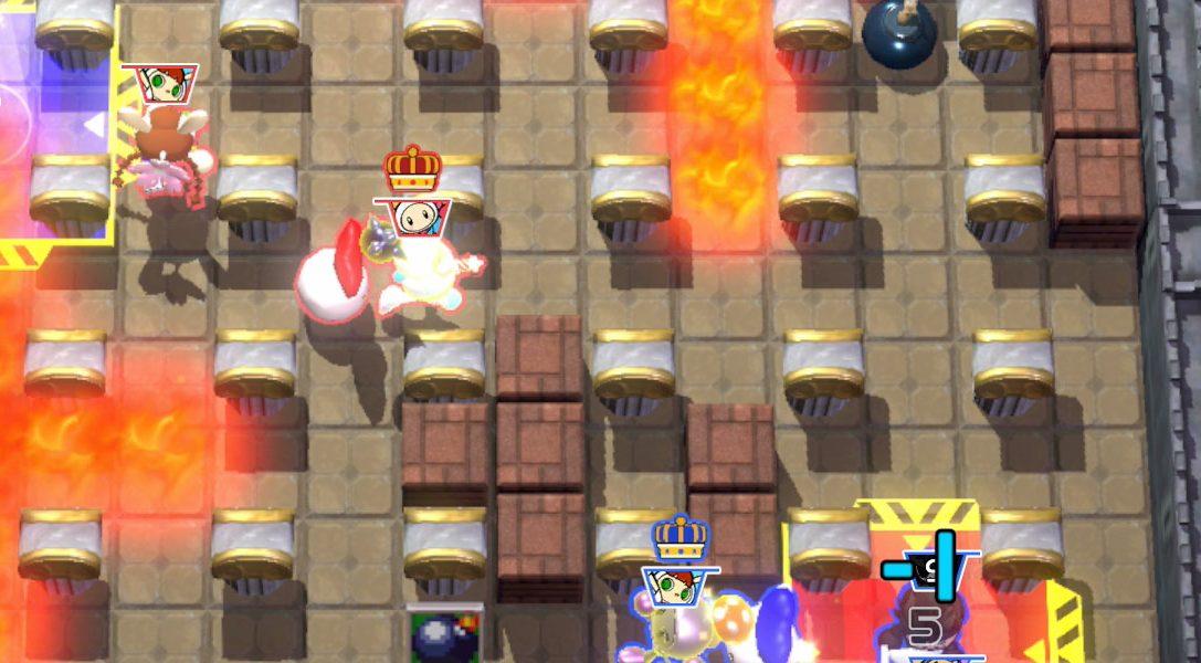 Disfruta hoy de nuevos mapas temáticos de Castlevania en Super Bomberman R para PS4