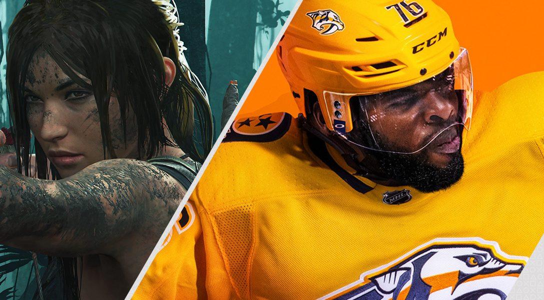 Los destacados de esta semana en PlayStation Store: Shadow of the Tomb Raider, EA Sports NHL 19