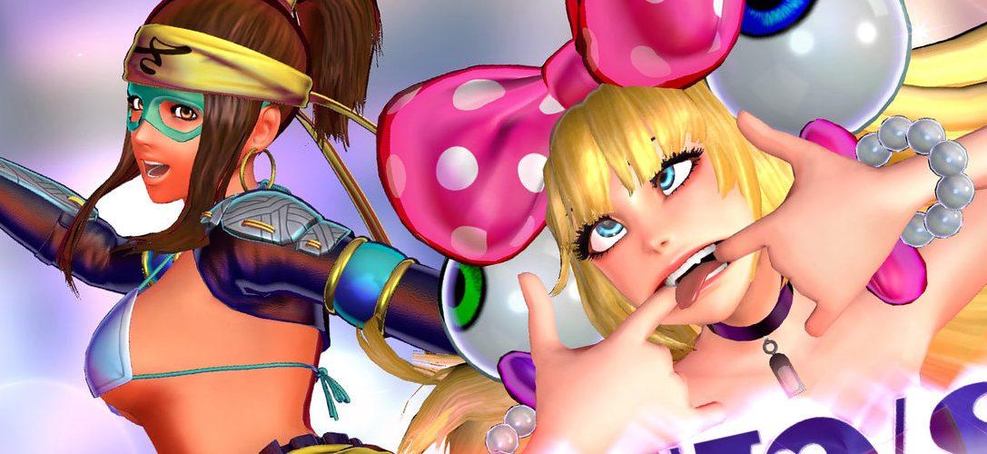 Las luchadoras de Fatal Fury y Samurai Showdown se cruzan en SNK Heroines: Tag Team Frenzy, ya disponible en PS4