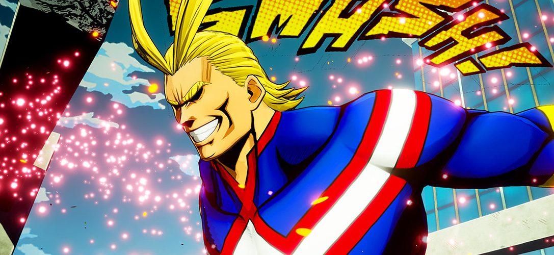 My Hero One's Justice para PS4 transforma personajes de manga en luchadores de videojuego
