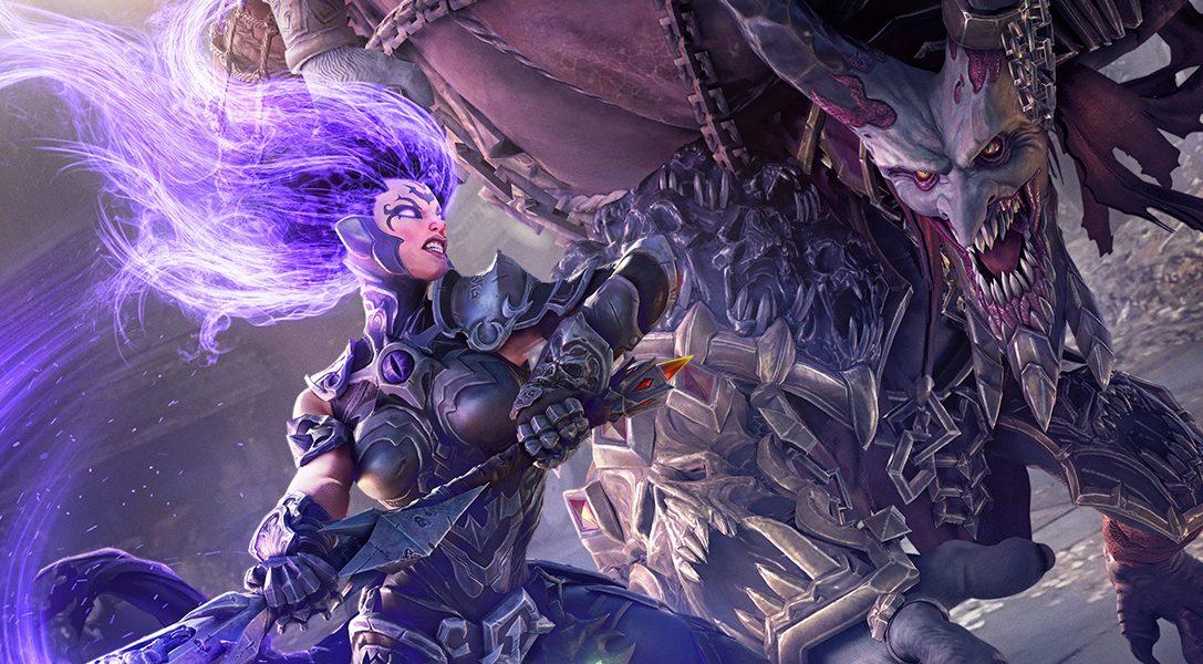 El látigo de Furia, protagonista de Darksiders III, está formado por 347 cuchillas
