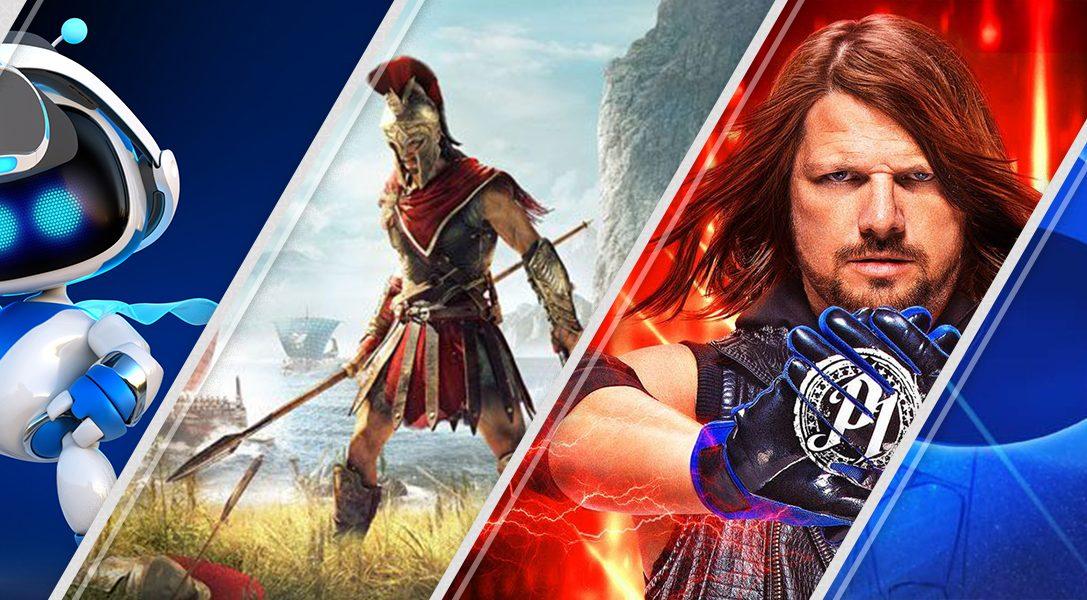 Lo más destacado de esta semana en PlayStation Store: Astro Bot Rescue Mission, Assassin's Creed Odyssey, y mucho más