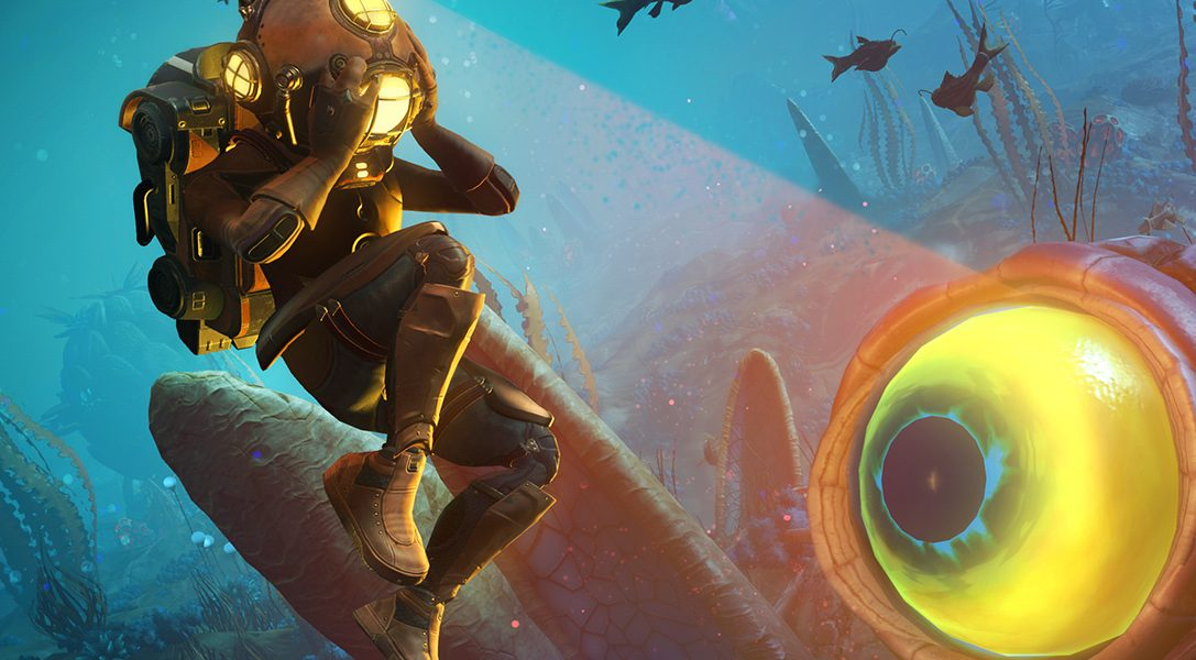 Observa The Abyss, la nueva actualización de No Man's Sky, en acción antes de su lanzamiento esta semana