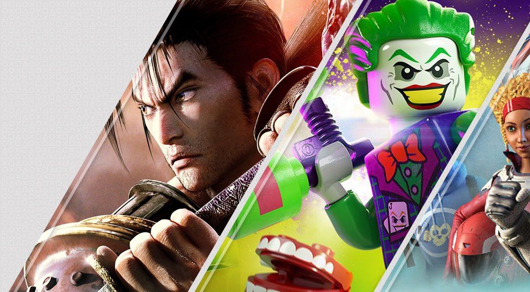 Lo último de esta semana en PlayStation Store: SoulCalibur VI, Lego DC Súper-Villanos y más