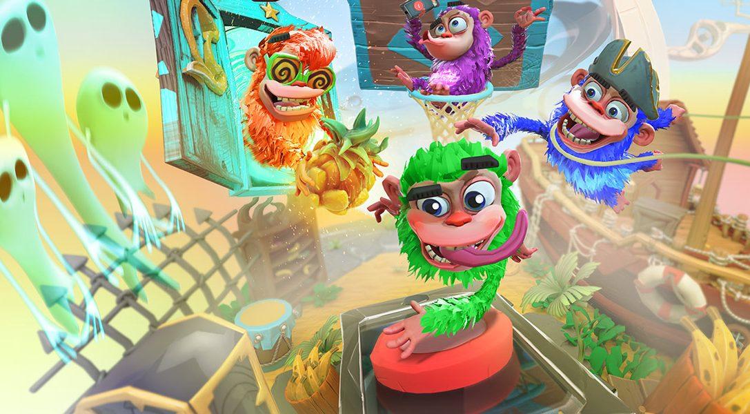 Chimparty trae diversión party game con PlayLink para toda a familia esta semana