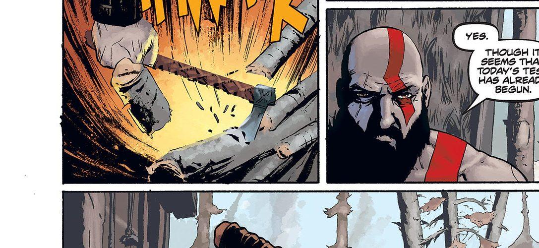 Accede a un avance exclusivo del cómic precuela de God of War antes de su lanzamiento la semana que viene