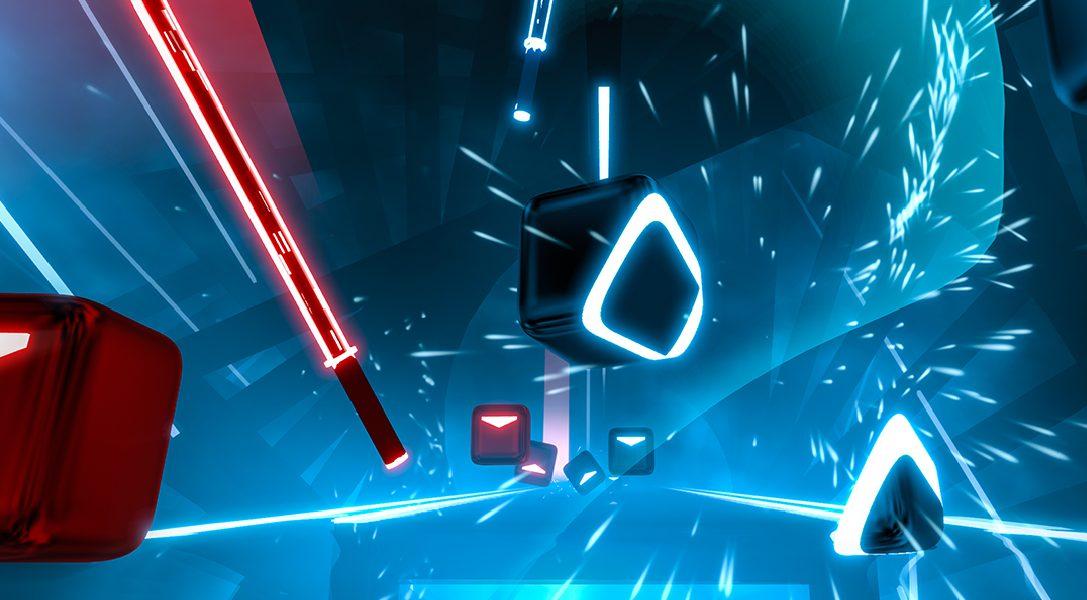 El juego de acción musical, Beat Saber, ya tiene fecha de lanzamiento para PS VR