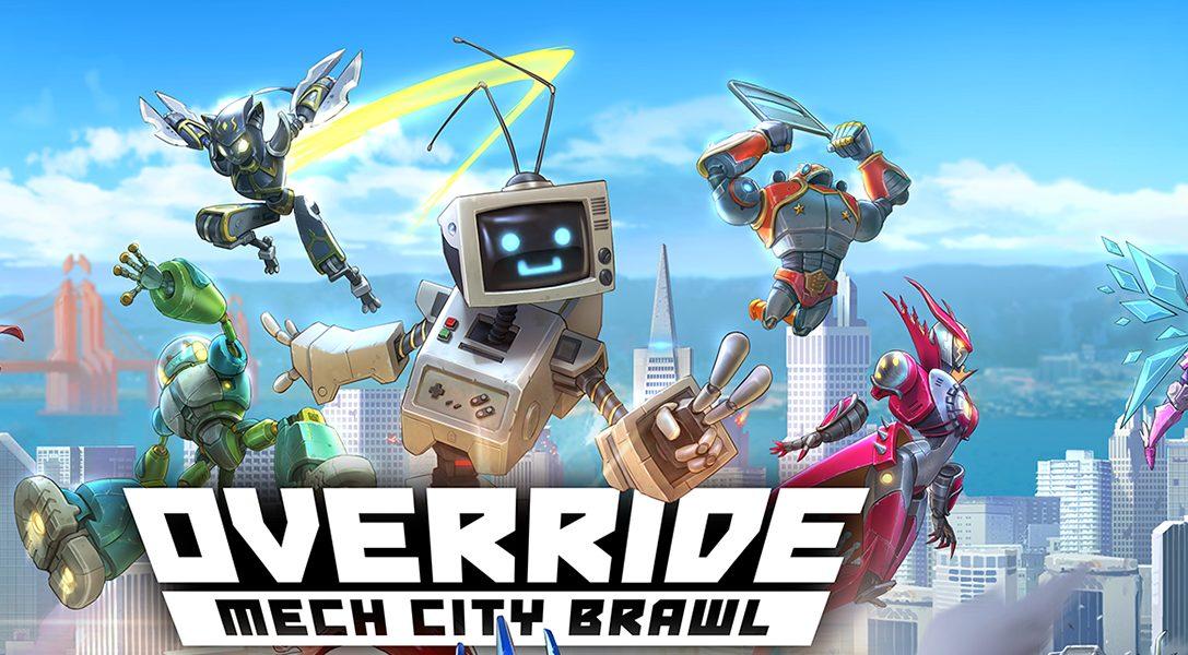 Ponte las pilas con estos consejos y triunfad en Override: Mech City Brawl, próximamente en PS4