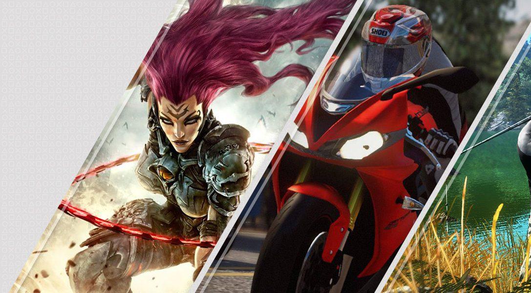Lo último en PlayStation Store – Darksiders III, Ride 3, Pro Fishing Simulator y más
