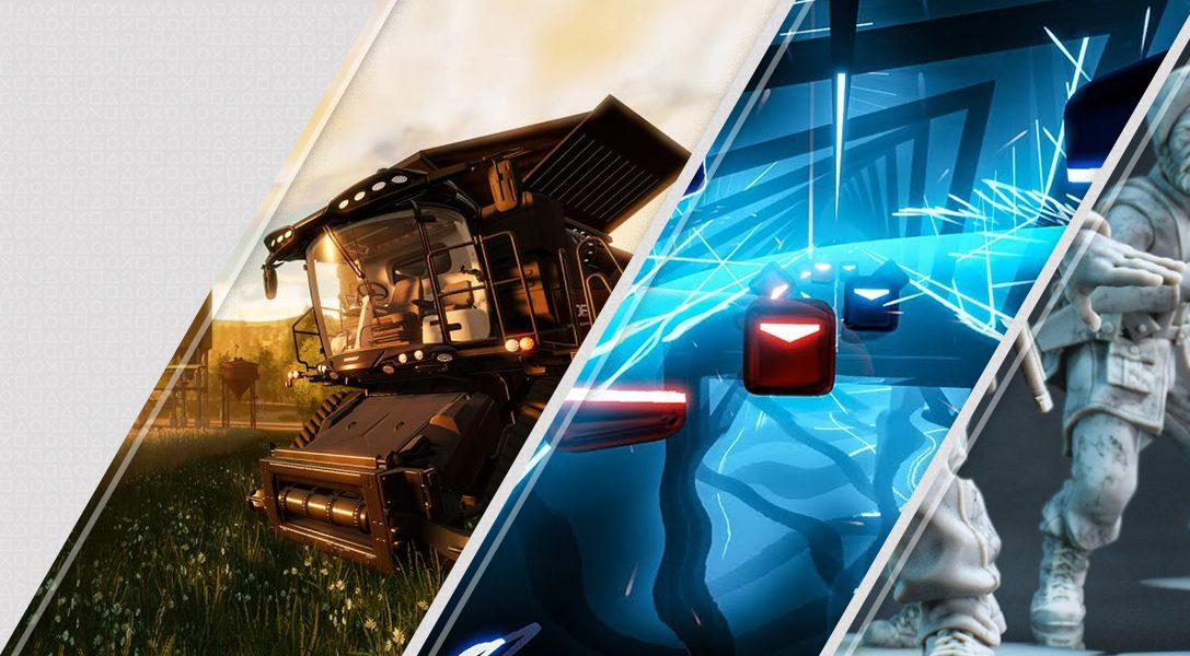 Lo último en PlayStation Store esta semana: Farming Simulator, Beat Saber, Rush VR y más