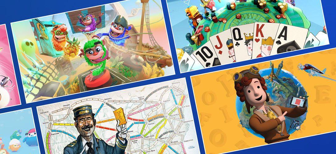 Pásalo en grande con los 6 nuevos juegos de PlayLink que llegan hoy a PS4