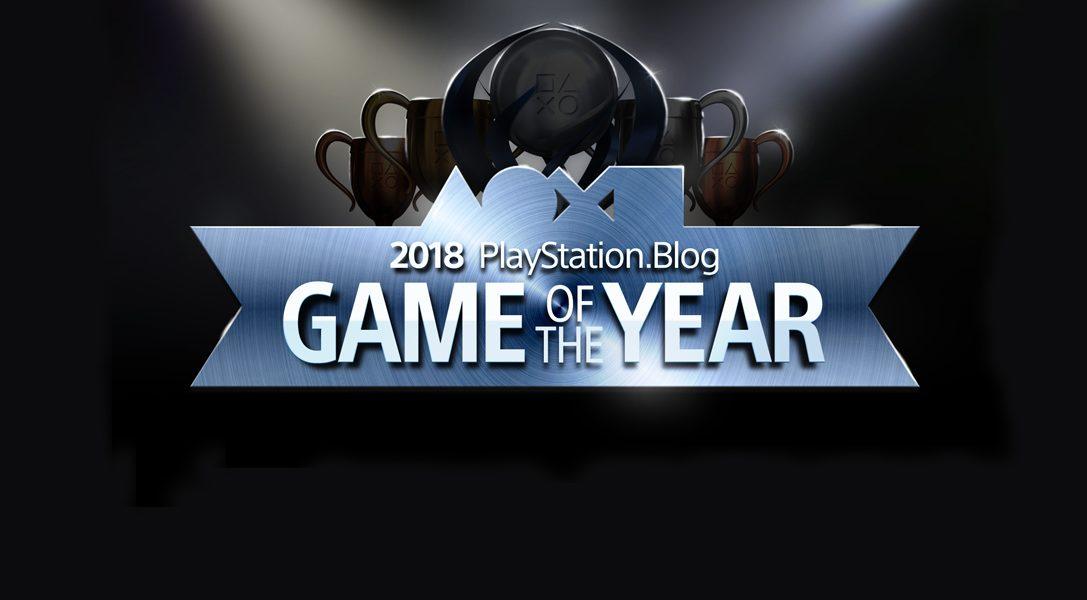 Vota por tu Juego del Año 2018 en PlayStation Blog