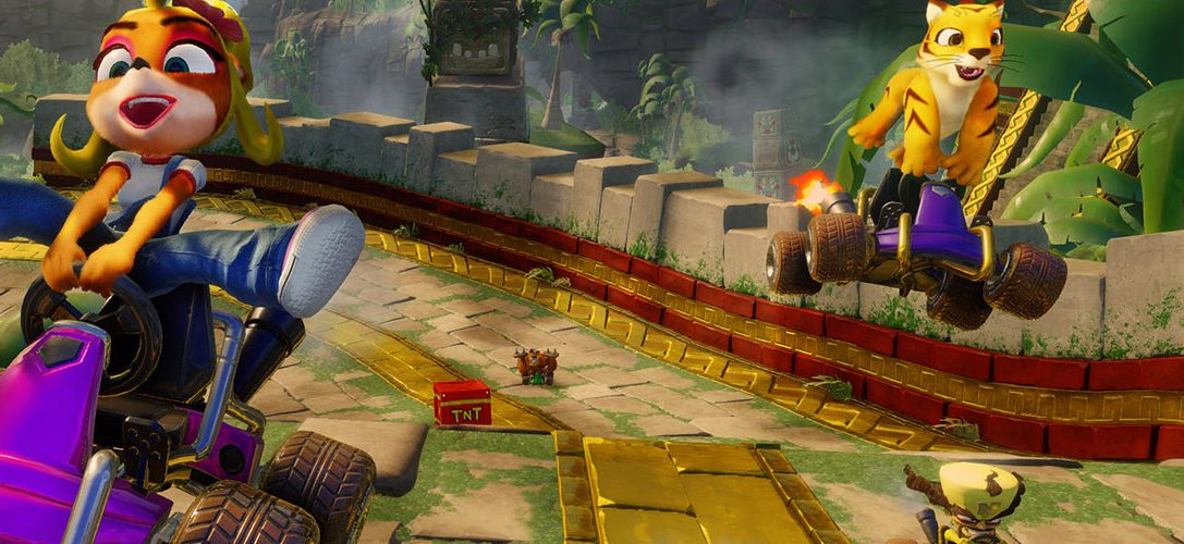 Crash Team Racing Nitro-Fueled encenderá sus motores en PS4 en 2019