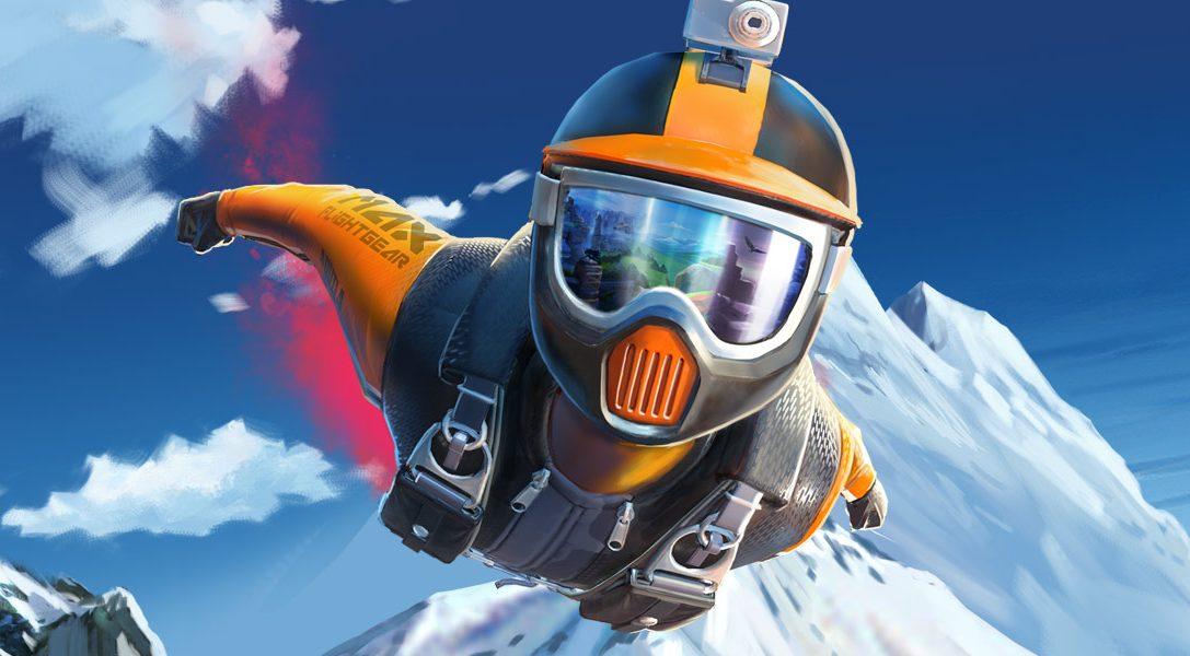 Aprende los fundamentos básicos de las carreras de traje aéreo con el videojuego de deportes extremos Rush VR