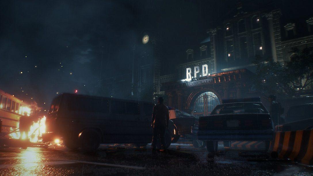 Los zombis de Resident Evil 2 se acercan