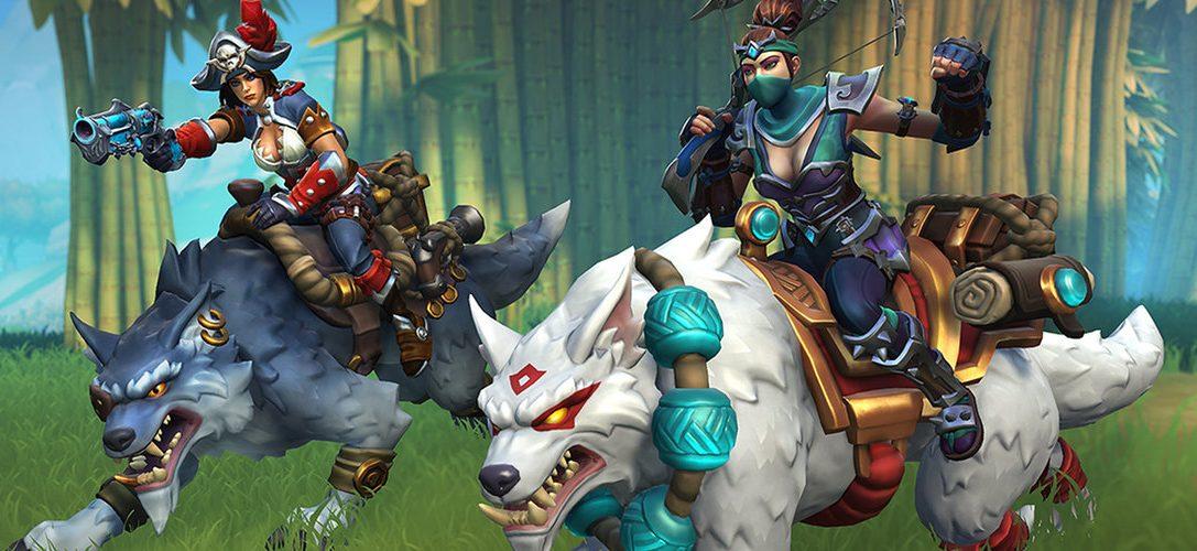 Mañana comienza la beta del título multijugador de fantasía Realm Royale para PS4