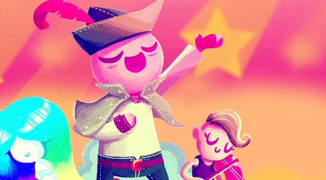 La aventura musical Wandersong debuta en PS4 la semana que viene