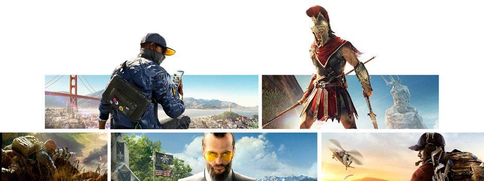 PlayStation Store ofrece hoy nuevos descuentos: la promoción de Ubisoft, juegos por menos de 20 € y más ofertas