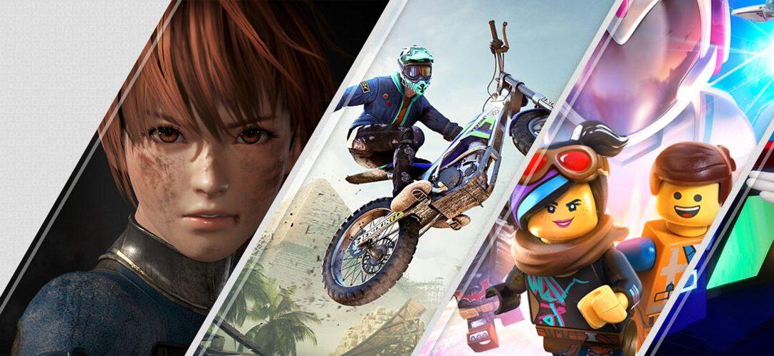 Lo último en PlayStation Store esta semana: Dead or Alive 6, Trials Rising, La LEGO Película 2 y más