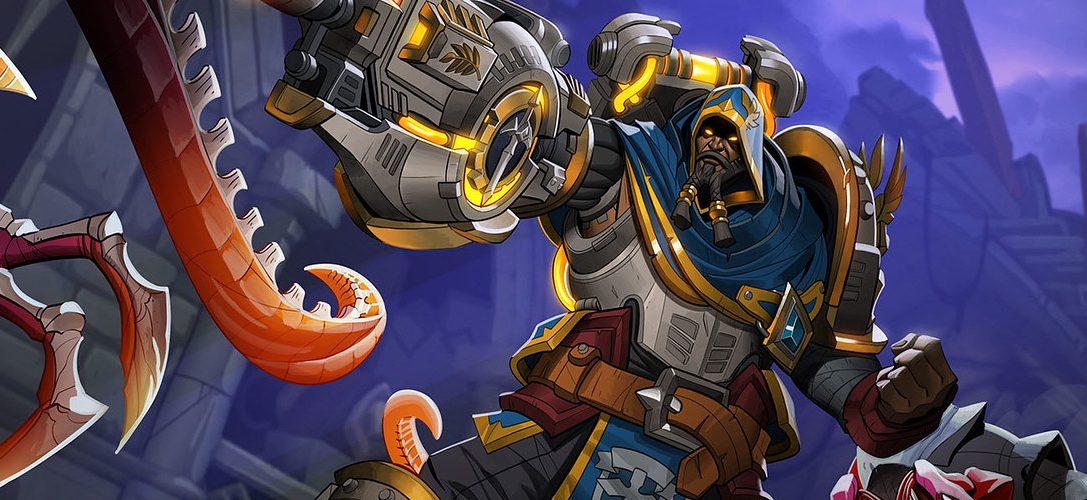 El shooter de fantasía Paladins presenta a su nuevo campeón: Atlas