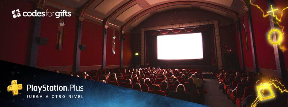 Consigue dos entradas de cine con tu suscripción a PS Plus