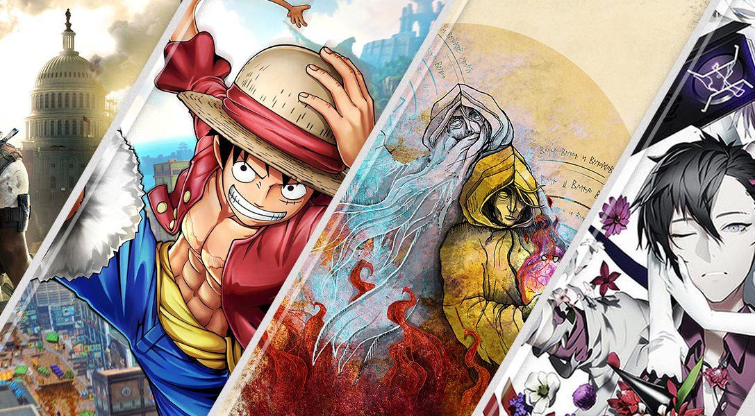 Lo último en PS Store esta semana – Tom Clancy's The Division 2, One Piece World Seeker y más