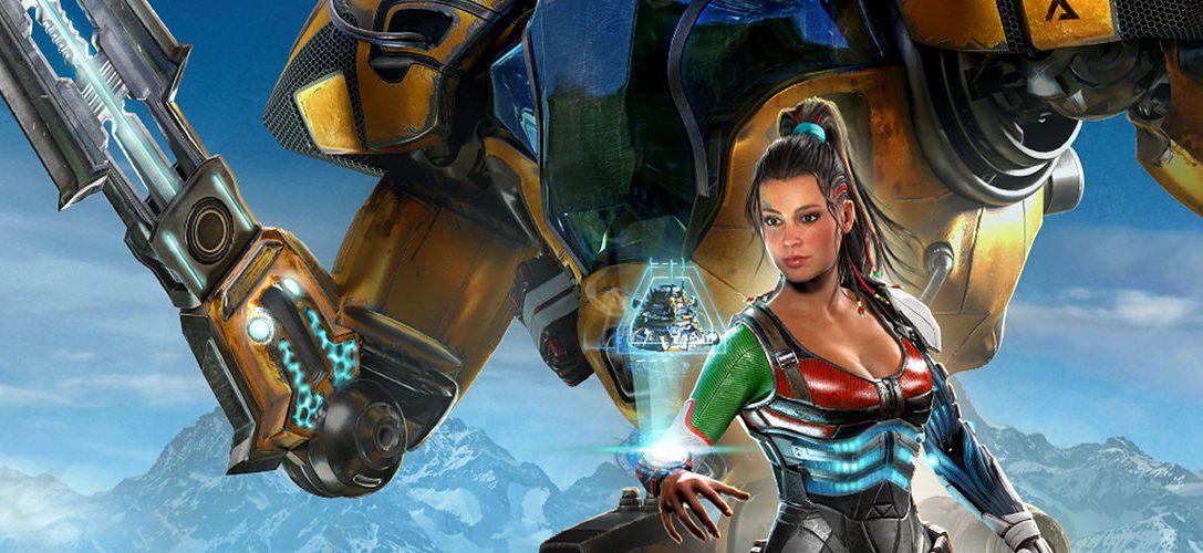 Riftbreaker, un juego que combina las mecánicas hack 'n' slash con la construcción de bases llegará muy pronto a PS4