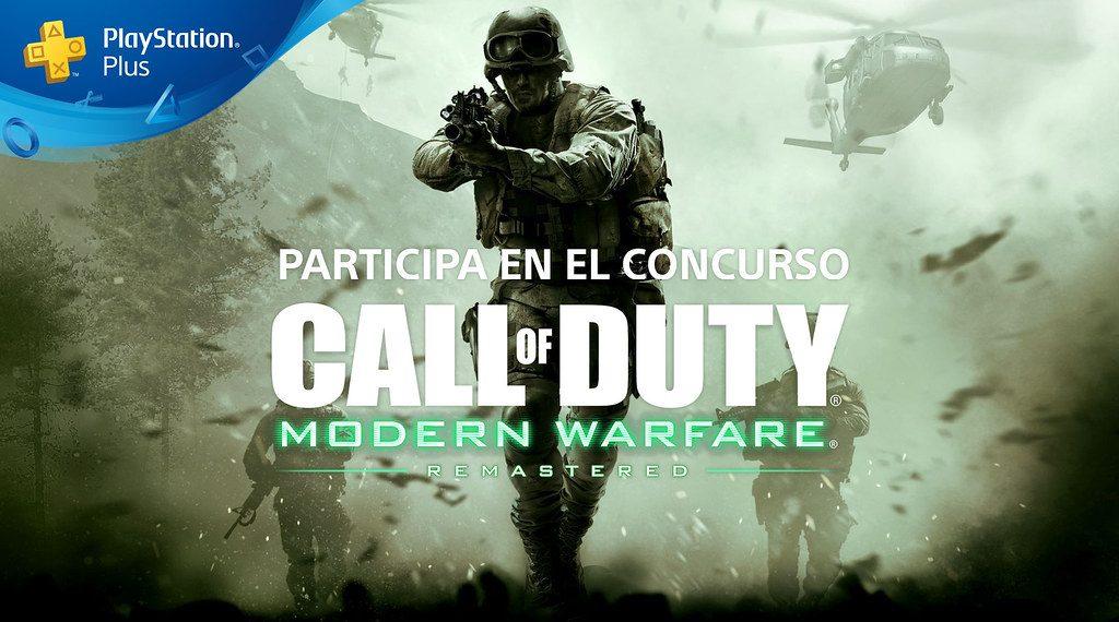 Comienza nuestro Concurso de trofeos de Call of Duty: Modern Warfare Remastered