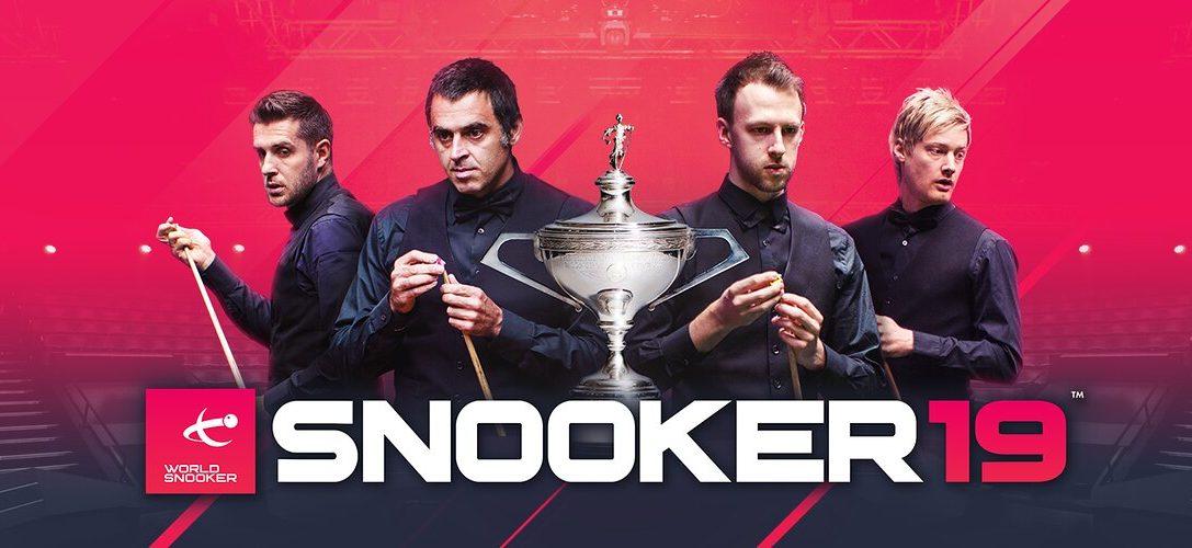 Observa Snooker 19 en acción antes de su lanzamiento en PS4