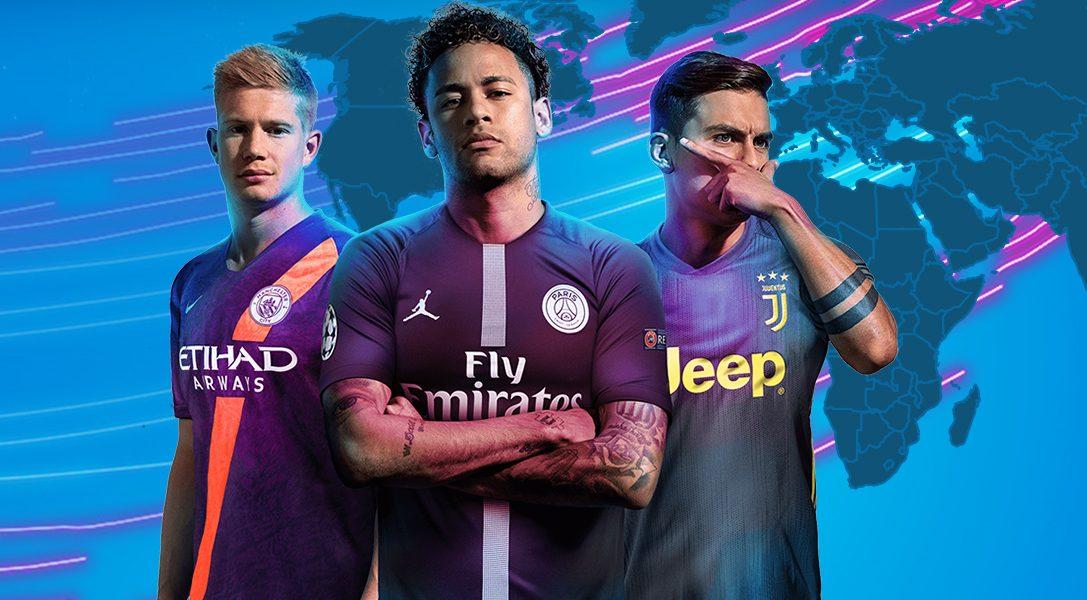 Anunciamos los FIFA 19 Country Tournaments, presented by PlayStation