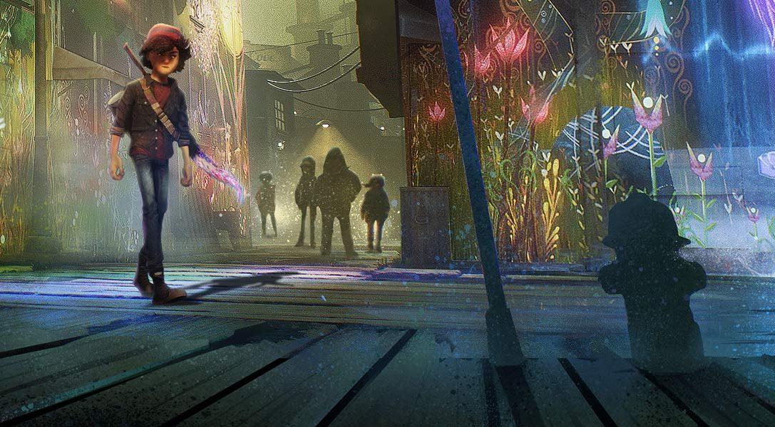 Avance sobre los modos de realidad virtual de Concrete Genie para PS VR