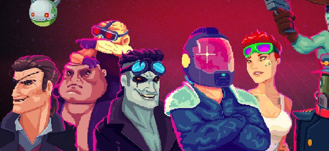5 datos flipantes sobre Black Paradox, el matamarcianos de estilo retro que llega esta semana a PS4