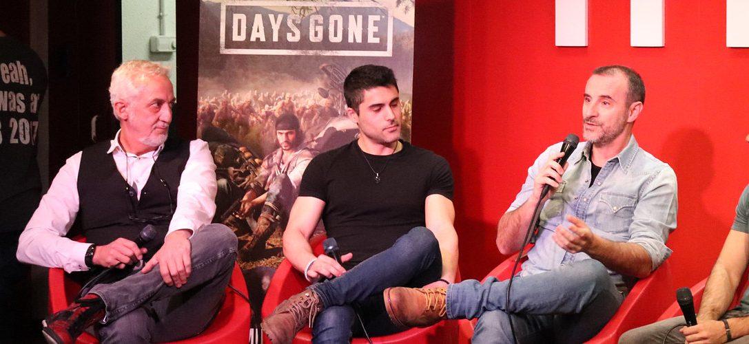 Los fans de Days Gone se reúnen en Madrid para ser los primeros en tener el juego