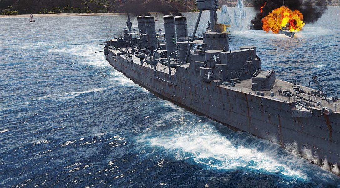 Tu guía para la simulación histórica de World of Warships: Legends, disponible hoy en PS4
