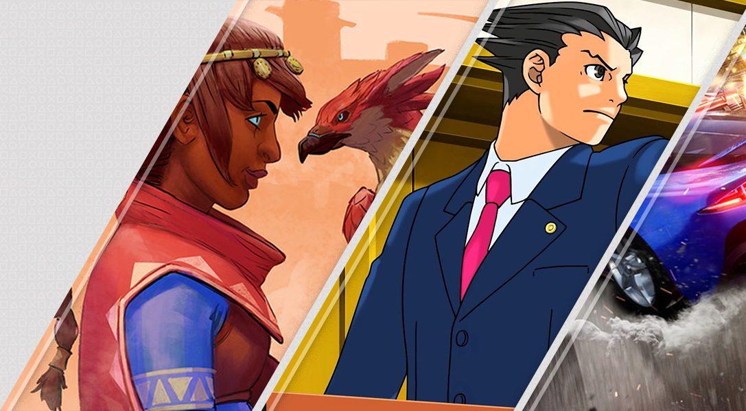 Novedades de PlayStation Store esta semana: Falcon Age, Phoenix Wright: Ace Attorney Trilogy y mucho más