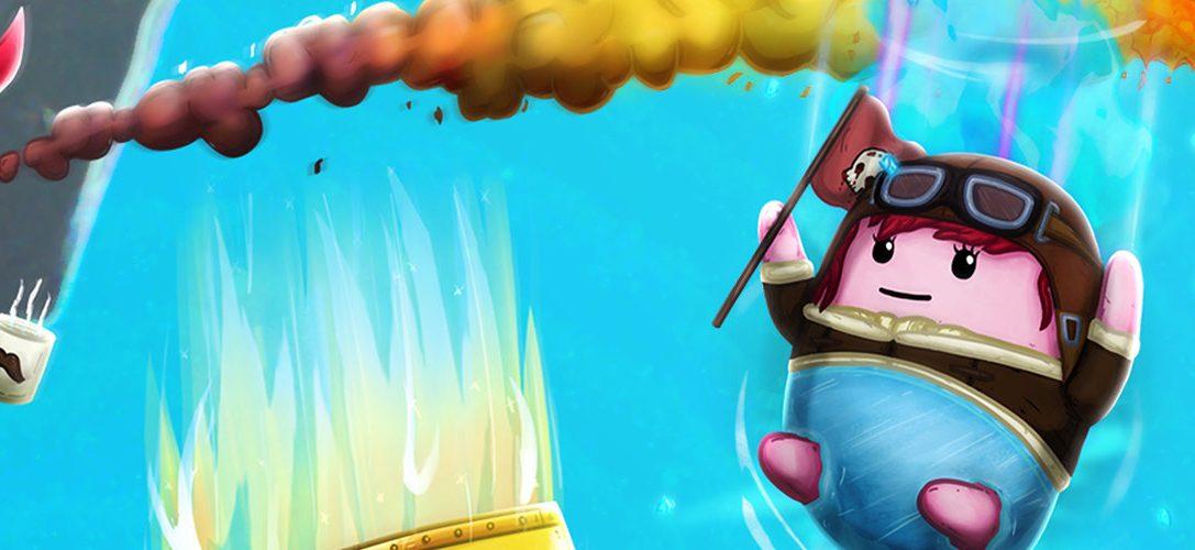 Ponte tu ropa interior de la suerte y adéntrate en Brief Battles, a la venta el siete de mayo para PS4