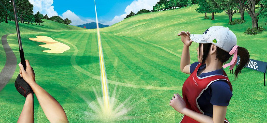 La demo de Everybody's Golf VR está disponible a partir de hoy