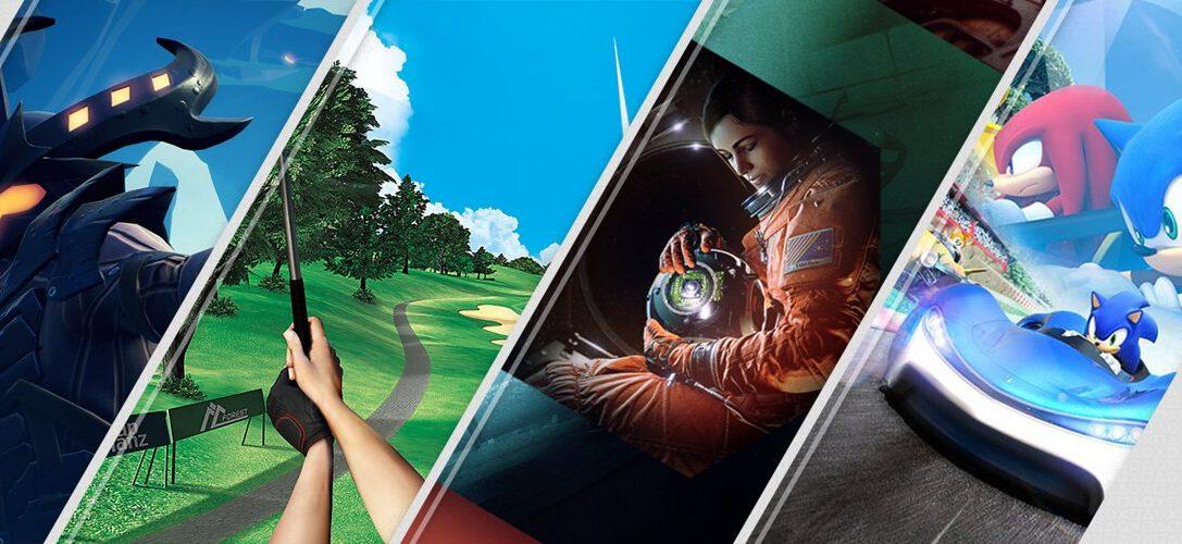Lo último en PS Store esta semana – Everybody's golf VR, Dauntless, Team Sonic Racing y más